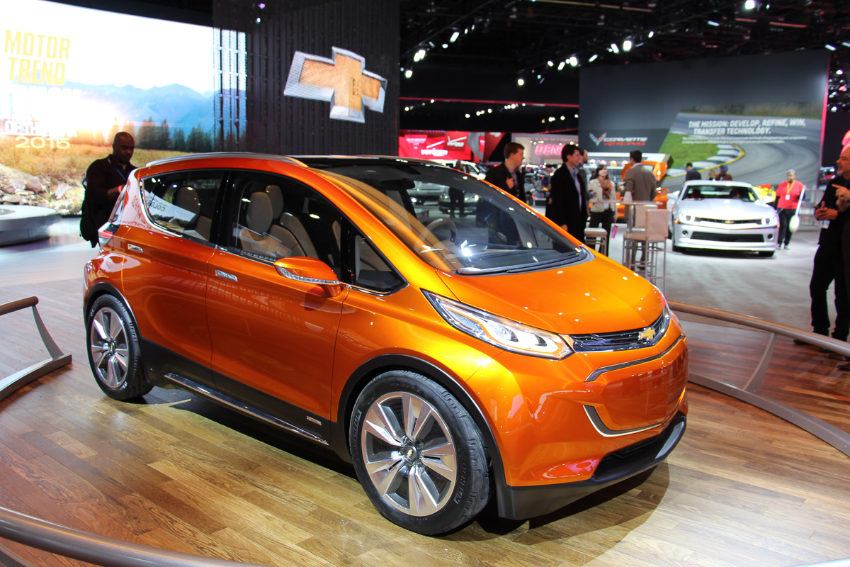 NAIAS 2015: Chevrolet Bolt