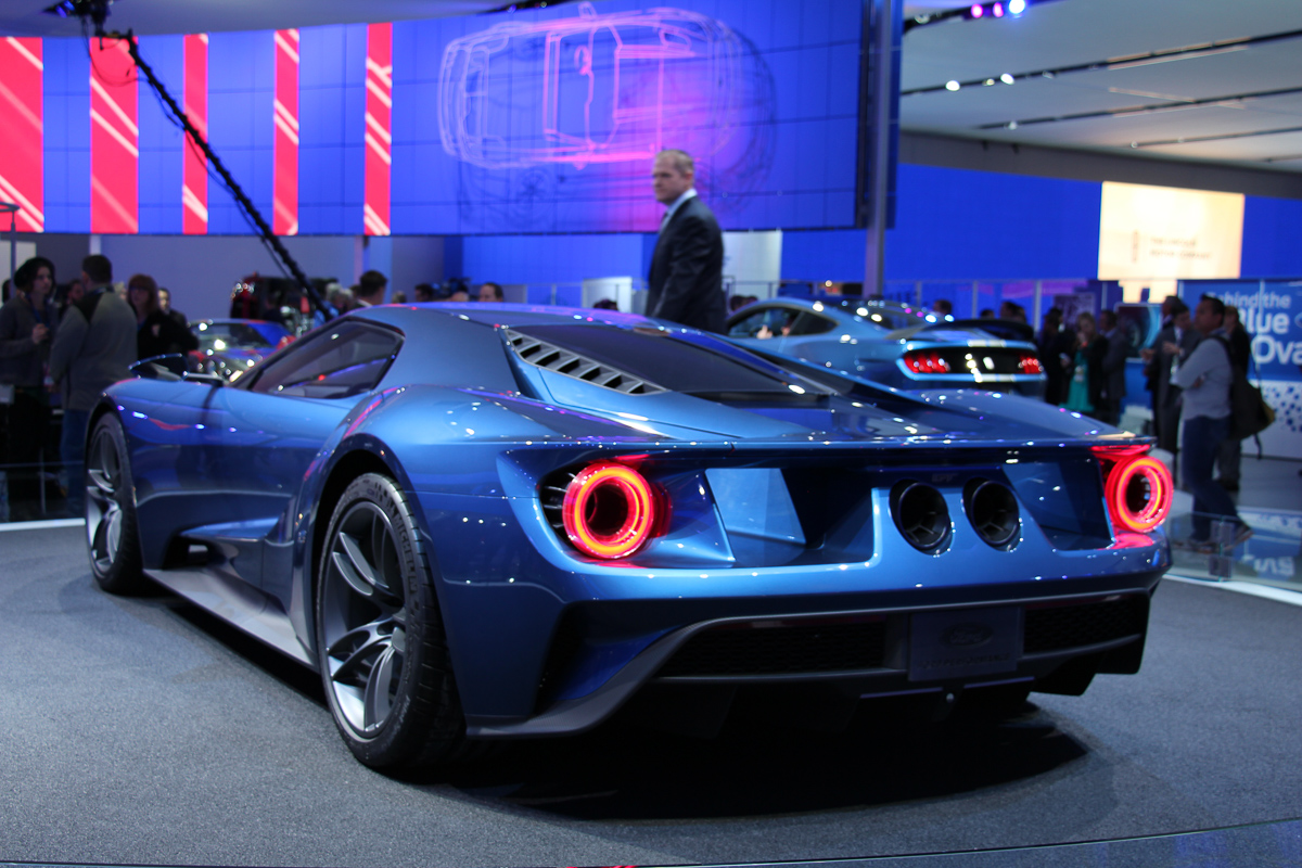 NAIAS 2015 Highlight: 2016 Ford GT!