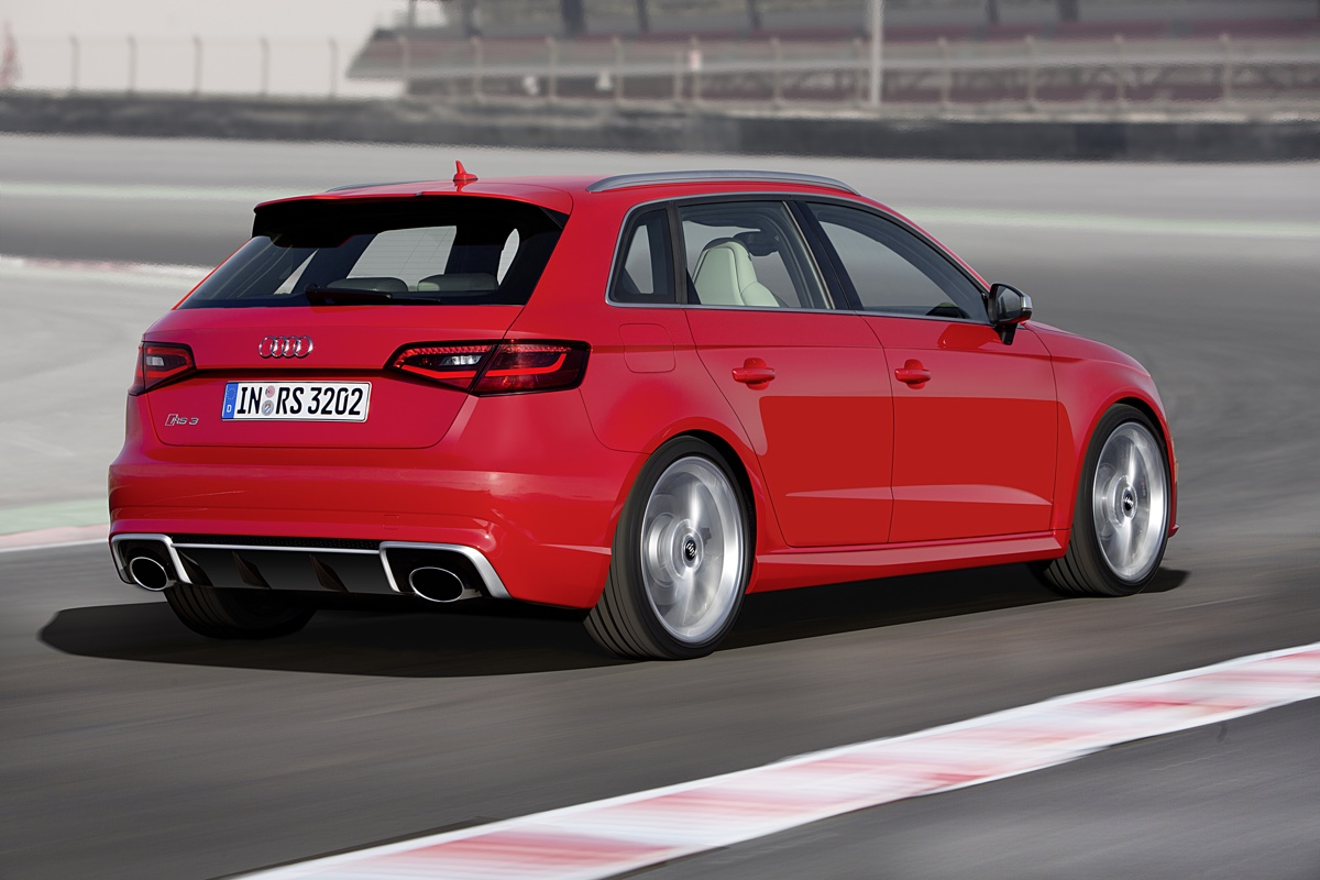 Neuer Audi RS3 Sound – Trommelfell-Massage Deluxe!