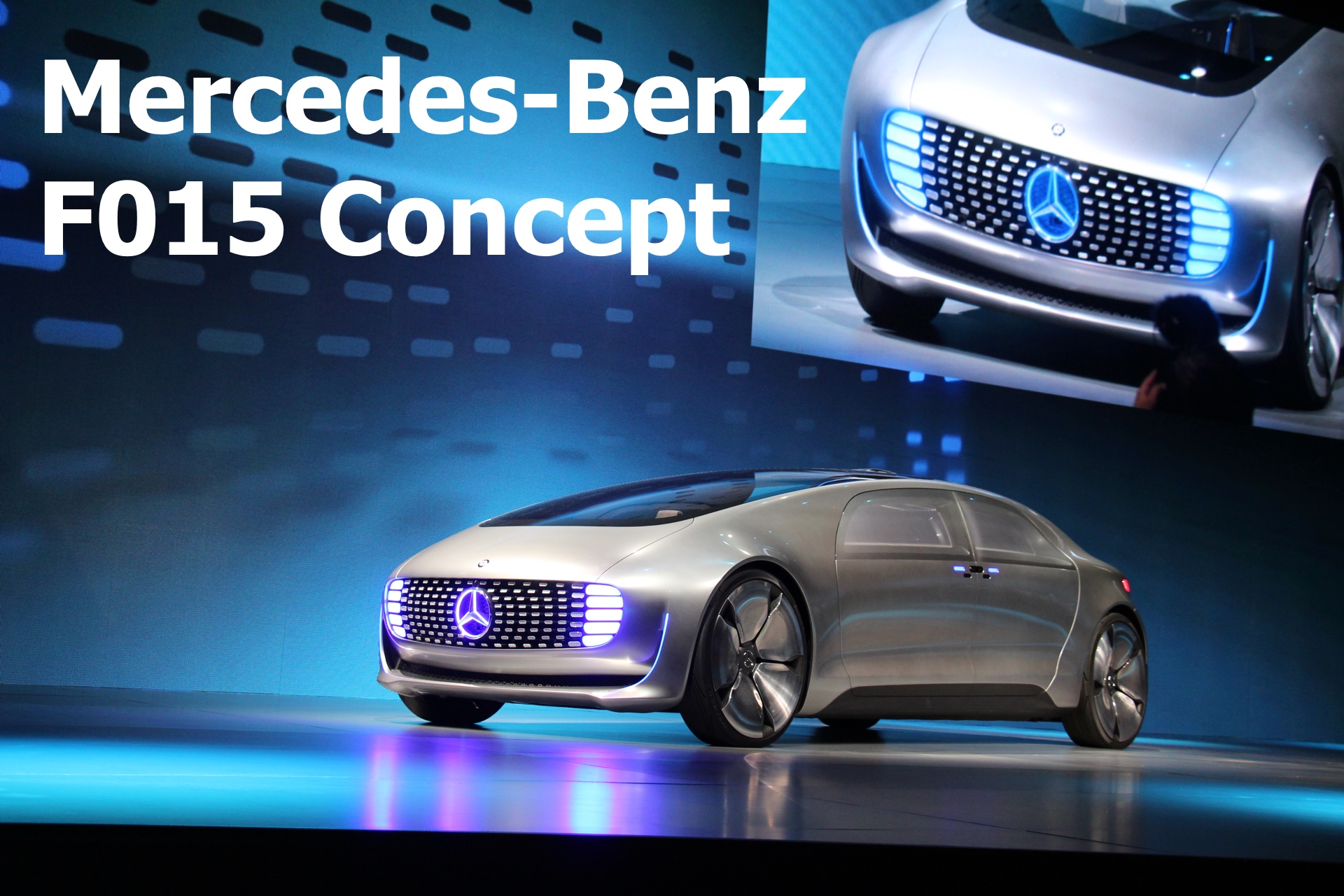 CES 2015: Mercedes-Benz F015 Luxury in Motion Concept Car