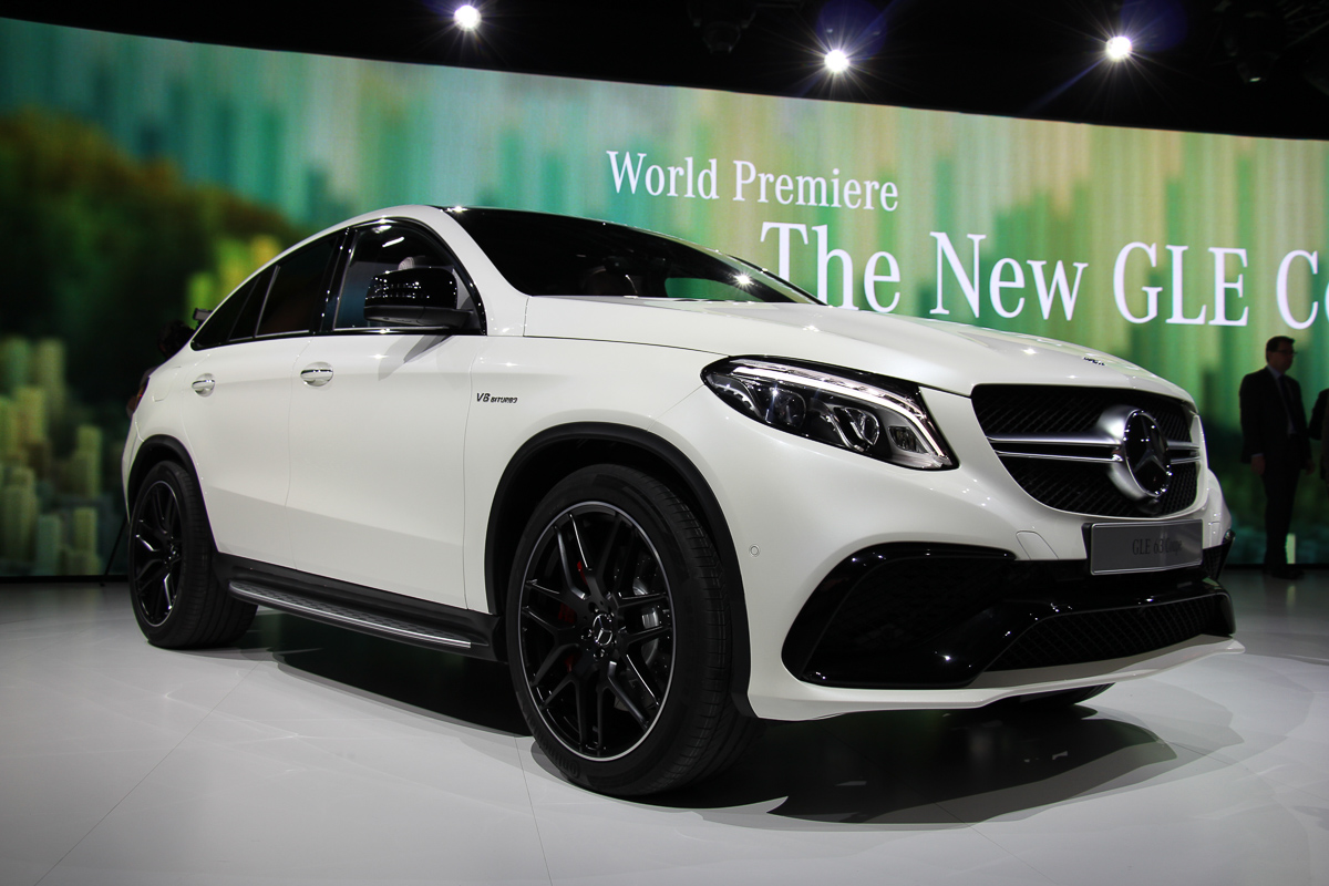 Mercedes-AMG GLE 63 Coupé – der BMW X6M Konkurrent!
