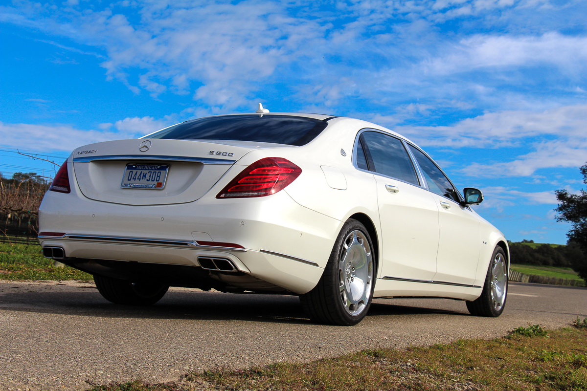 2015 Mercedes-Maybach S600 – der pure Luxus!