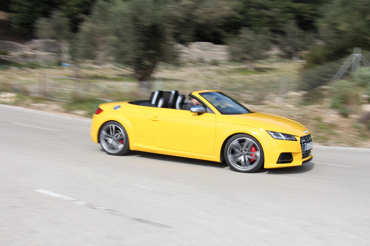 Voice over Cars Review: 2015 Audi TTS Roadster im Fahrbericht!