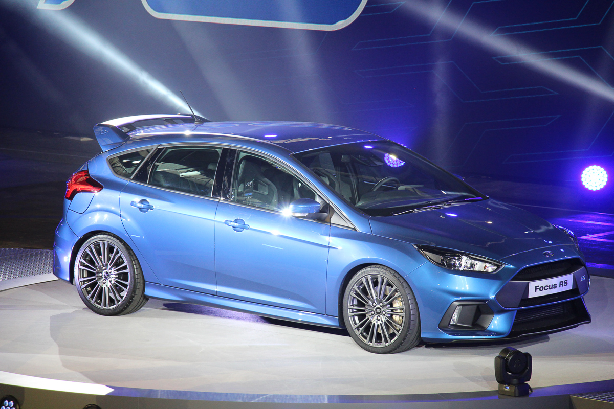 2015 Ford Focus RS – Video live von der Weltpremiere