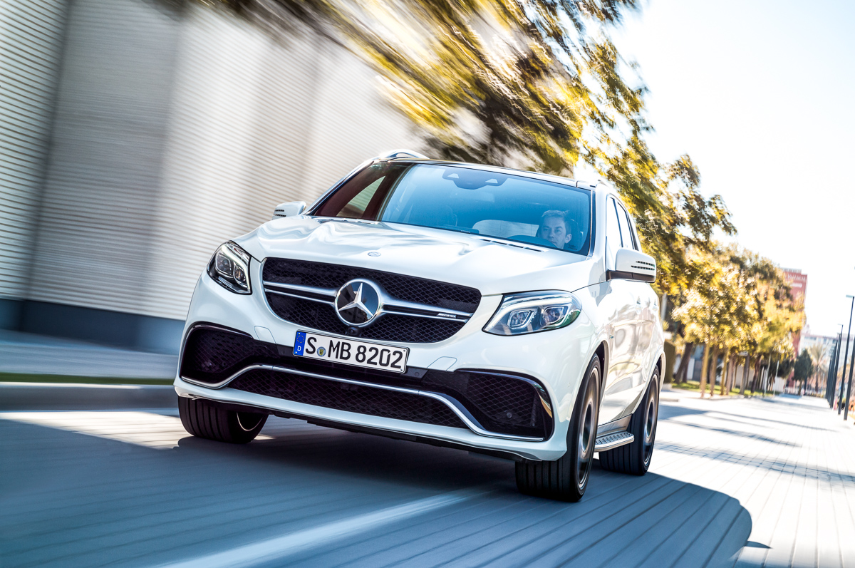 Voice over Cars NYIAS 2015 News: Mercedes-AMG GLE 63 S [Video / Fotos]