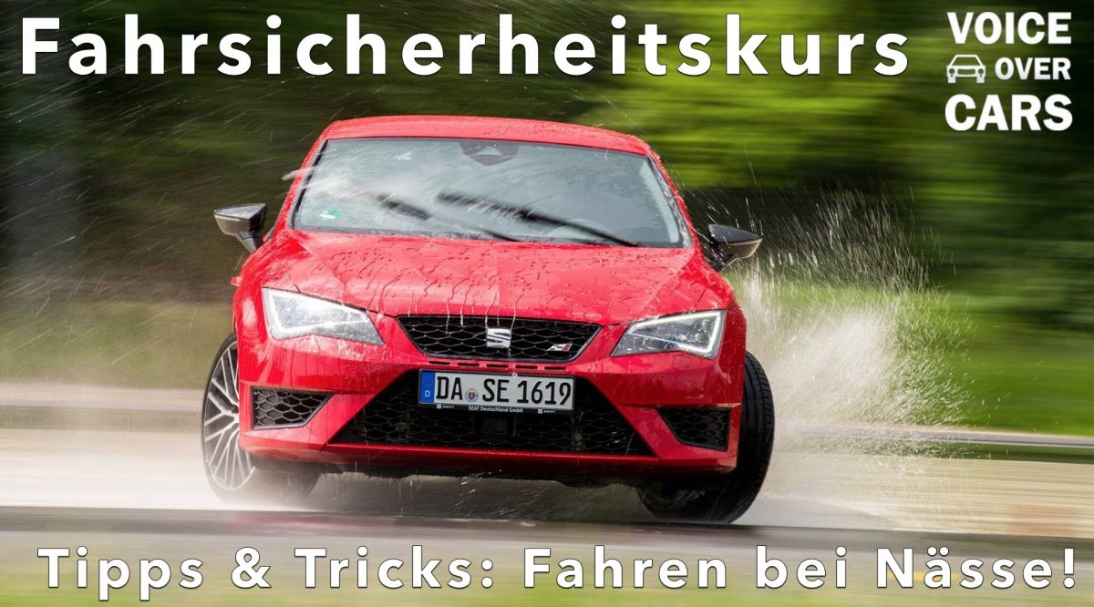 Fahrsicherheitskurs – Nürburgring – Seat Enjoy to Drive 2016