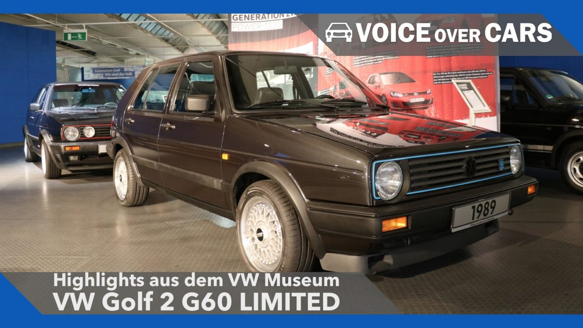 VW Golf 2 16V G60 Limited – VW Museum Highlights 2016