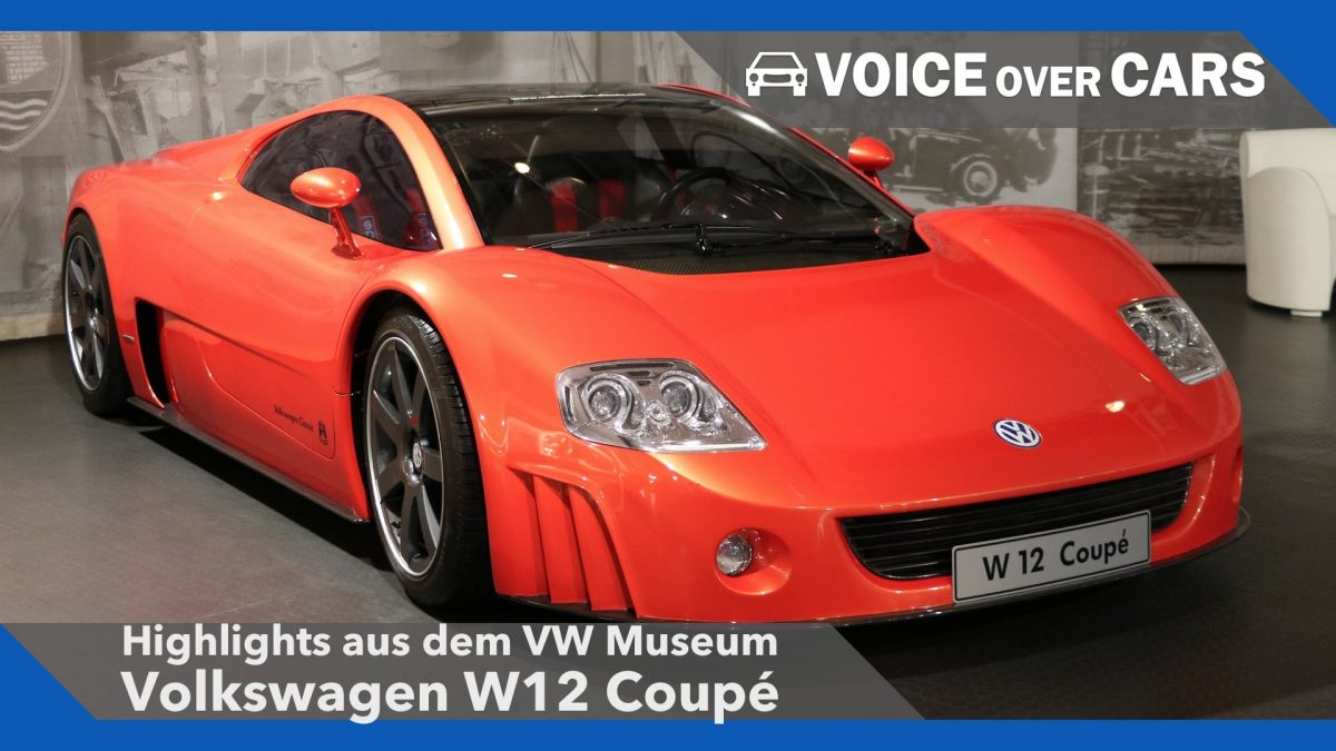 VW Museum Wolfsburg Highlights 2016: Volkswagen W12 Coupé!