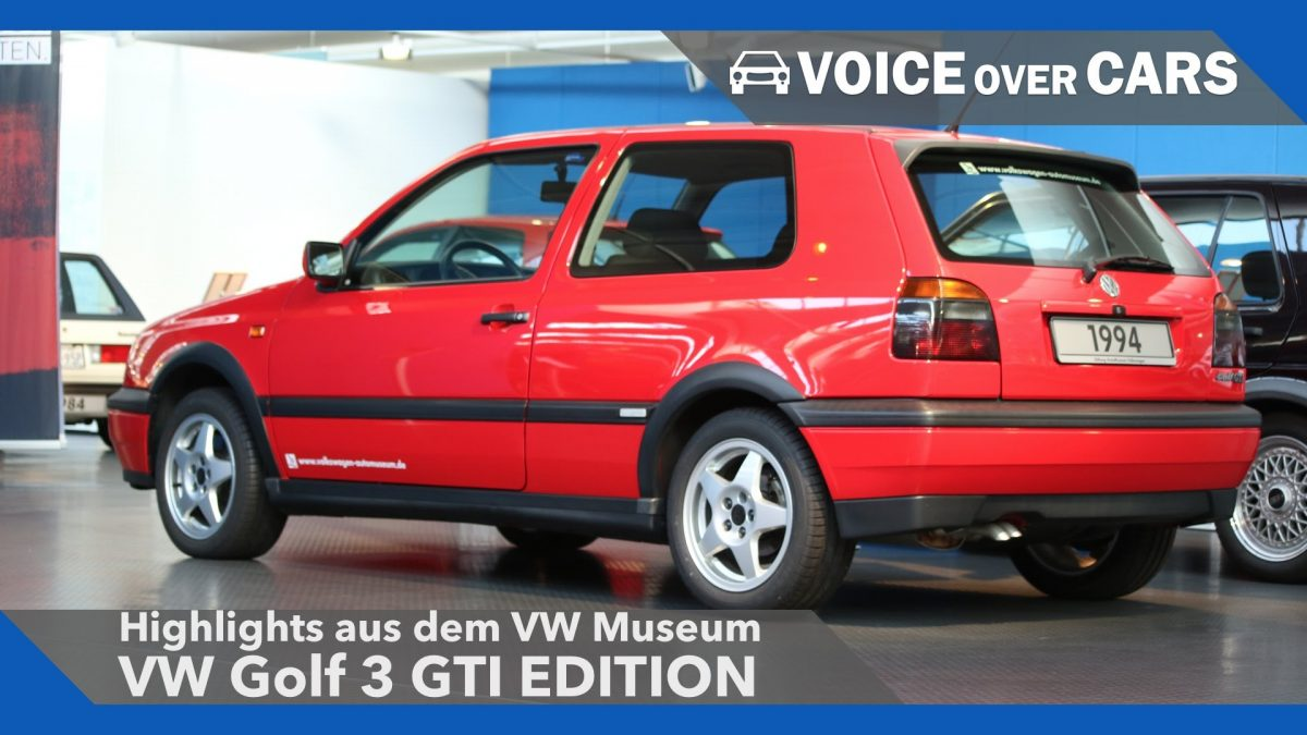 VW Golf 3 GTI Edition – VW Museum Highlights 2016 – Voice over Cars