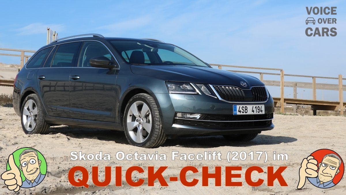 2017 Skoda Octavia Facelift Quick Check | Voice over Cars | Fahrbericht | Review | Test