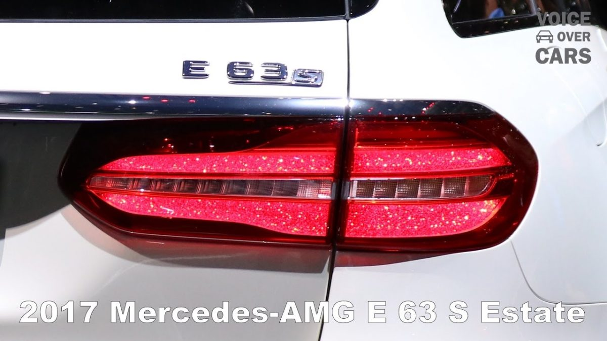 Mercedes-AMG E63 S Estate – Specs