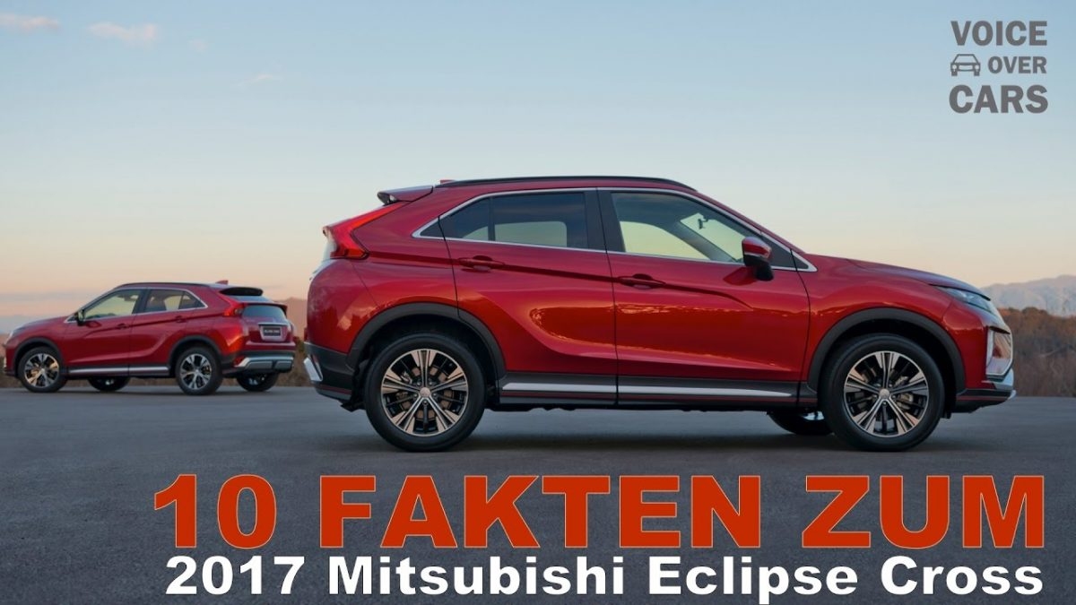 2017 Mitsubishi Eclipse Cross 10 Fakten Voice over Cars Genf 2017