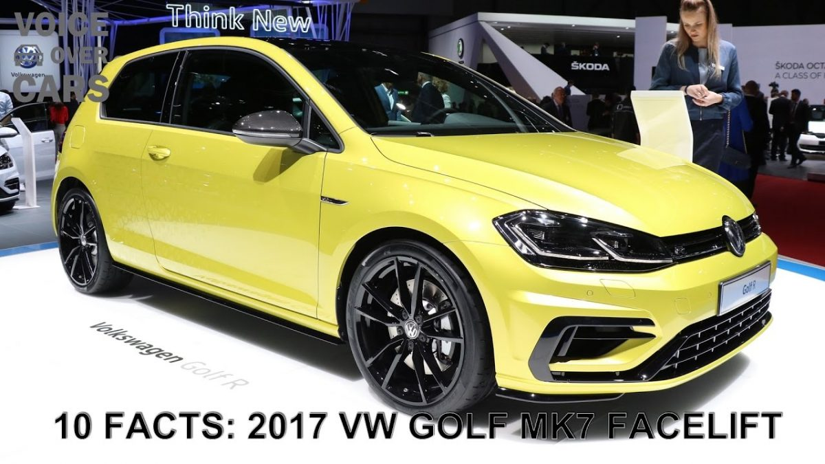 2017 VW Golf MK7 Facelift Update 10 Facts Specs Voice over Cars News