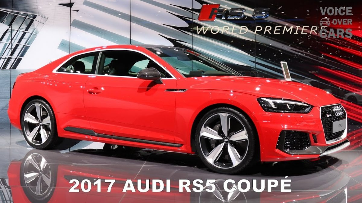 2017 Audi RS5 Coupé – 10 Facts about the Audi RS5 with Sound Check and Acceleration