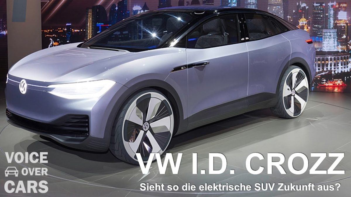 VW I.D. CROZZ Volkswagen Auto News Shanghai 2017 Voice over Cars