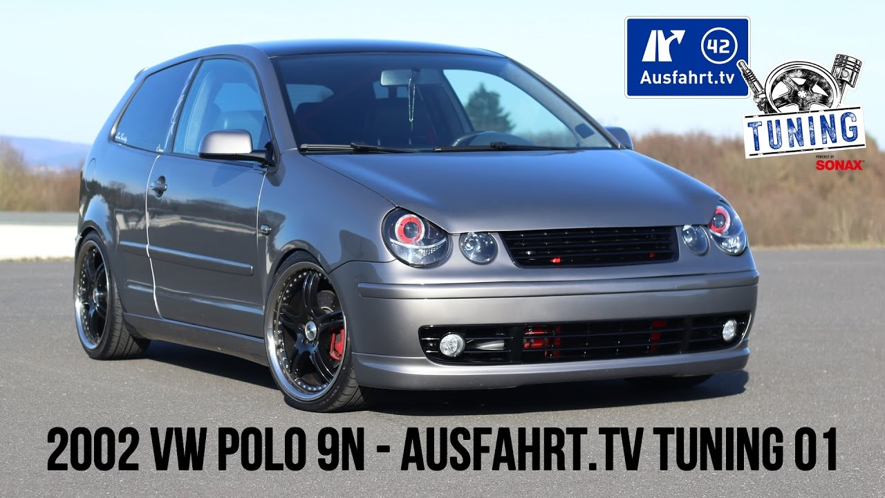 ausfahrt tv tuning folge 01 vw polo 9n tuning inkl car. Black Bedroom Furniture Sets. Home Design Ideas