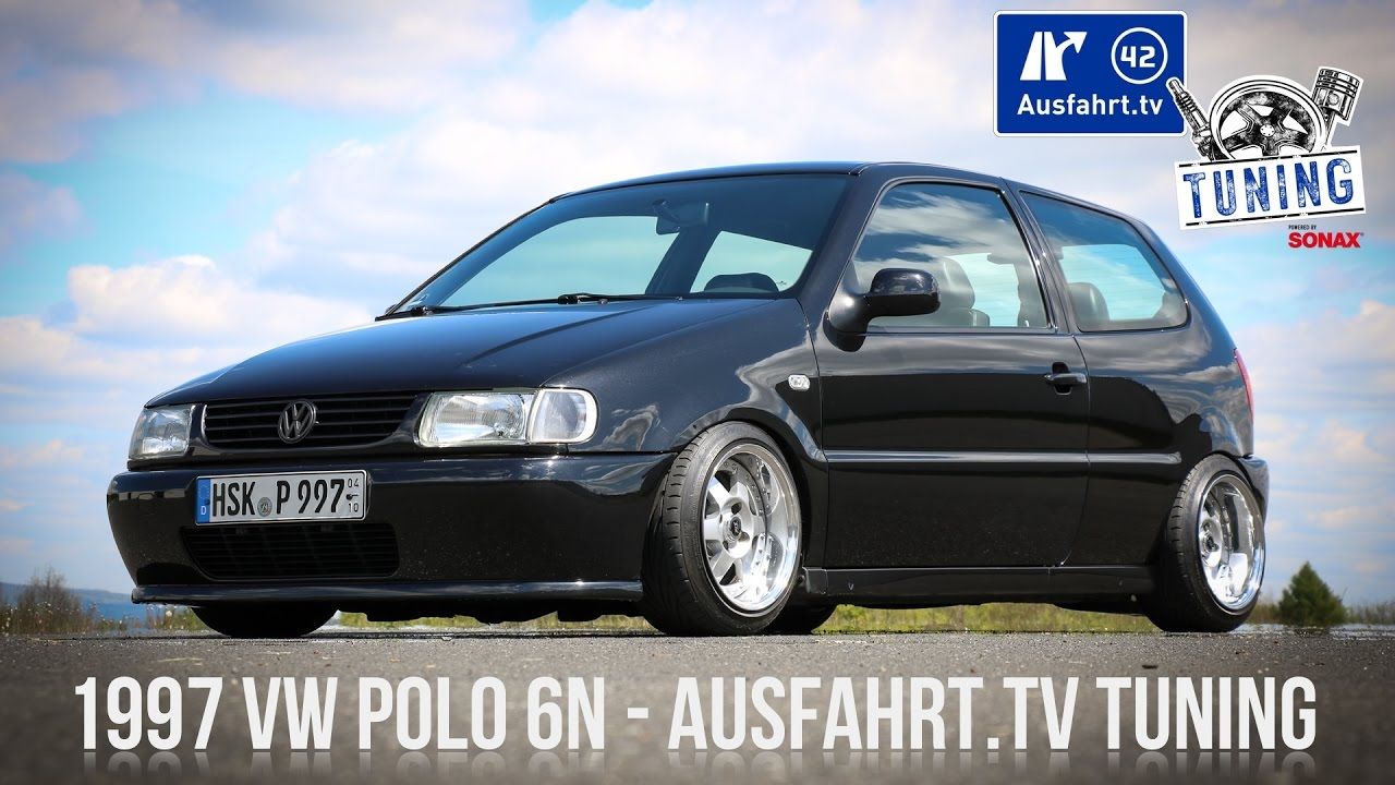 ausfahrt tv tuning folge 06 1997 vw polo 6n tuning inkl. Black Bedroom Furniture Sets. Home Design Ideas