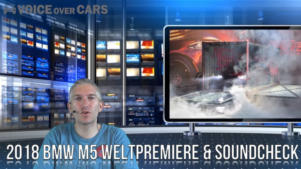 2018 BMW M5 Weltpremiere | Fakten | Need for Speed Payback | Gamescom 2017
