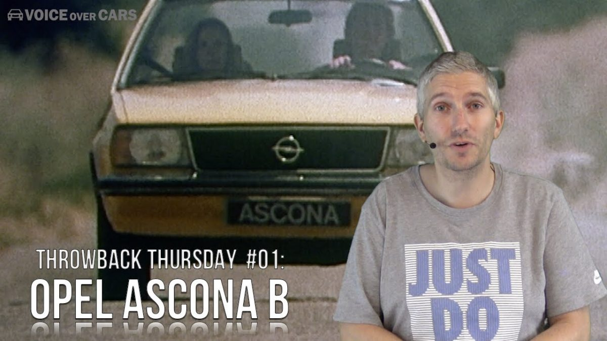 Throwback Thursday:  Der Opel Ascona B – Voice over Cars Classics