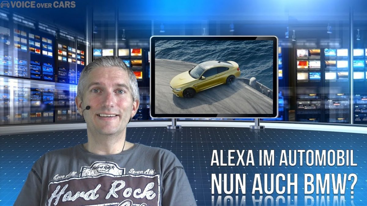 amazon alexa im bmw m4 der amazon sprachassistent im. Black Bedroom Furniture Sets. Home Design Ideas