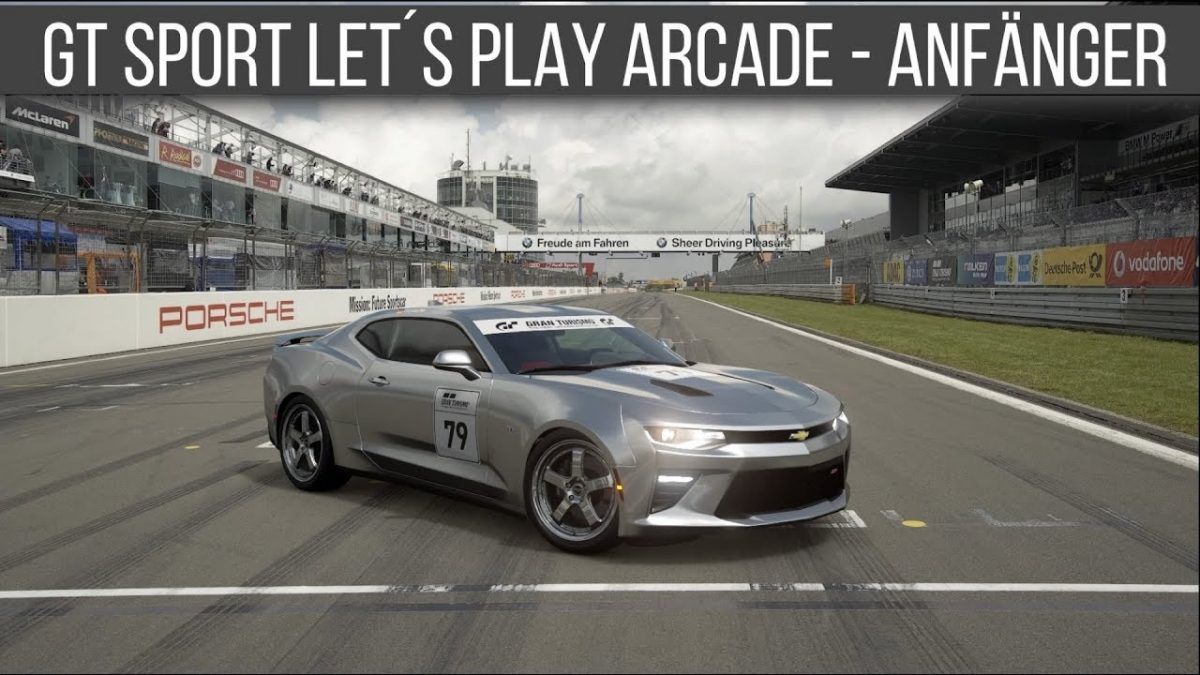 Gran Turismo Sport Arcade Modus Lets Play Chevrolet Camaro SS 2016 Lackierungseditor Voice over Cars