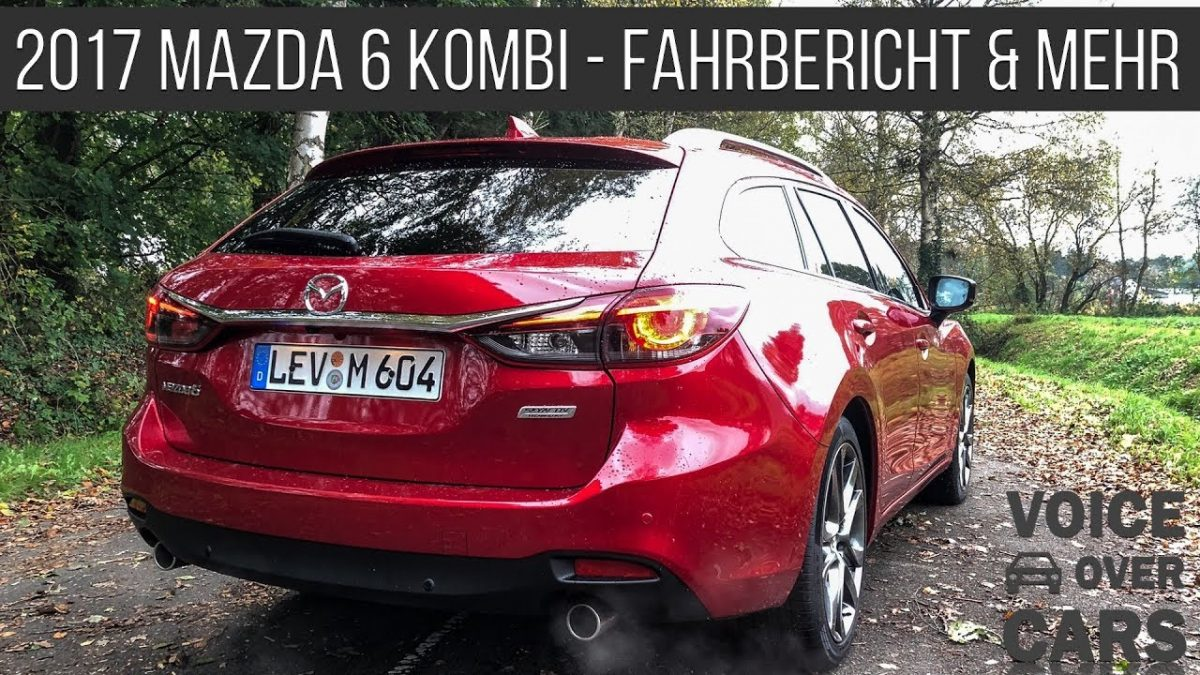 2017 Mazda 6 Kombi Fahrbericht Test Probefahrt Review Voice over Cars inkl Mazda Museum in GT Sport
