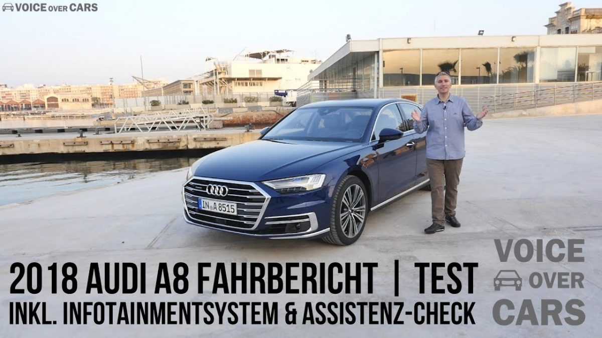 2018 Audi A8 Fahrbericht Test Review Tech Check Infotainment Voice over Cars – A8 kurz / lang / W12