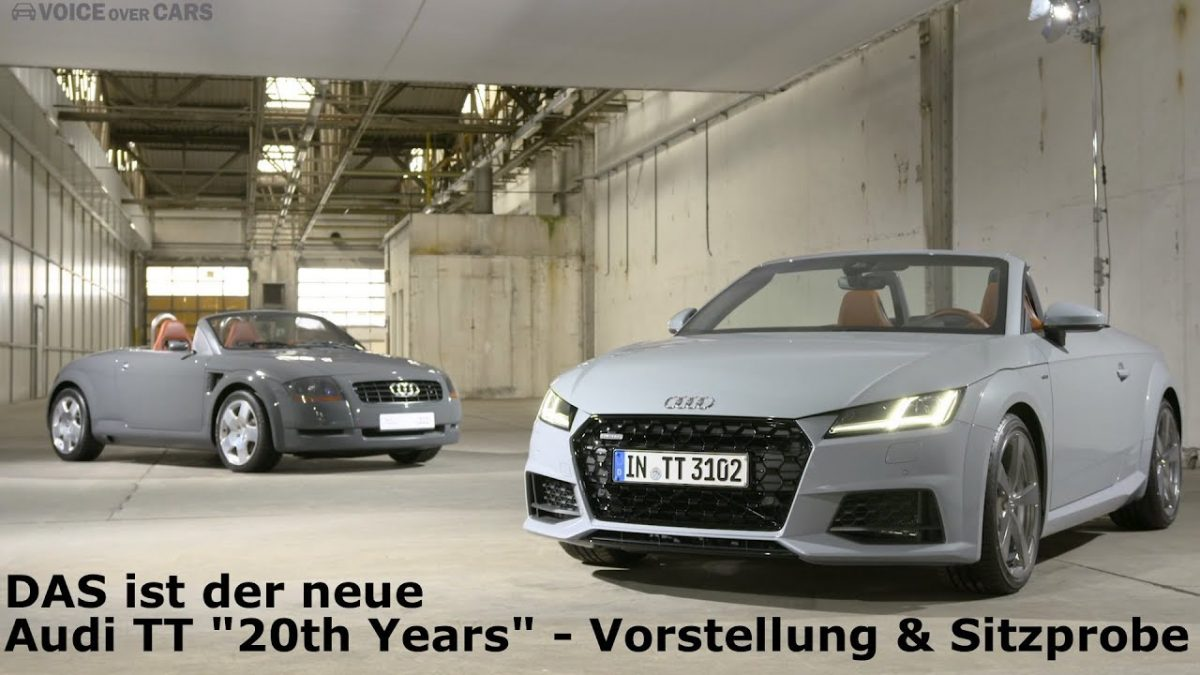 2018 Audi TT – Audi TTS – 20th Years Edition – Sitzprobe Vorstellung Voice over Cars News