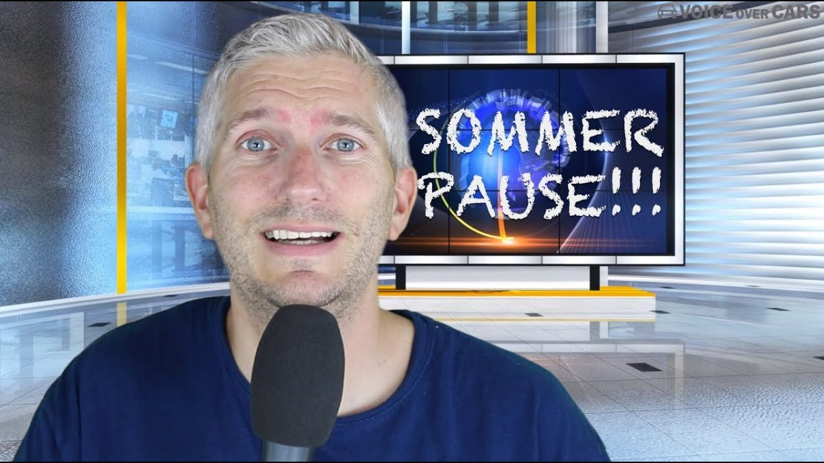 Sommerferien Programm 2018 – Voice over Cars geht in die Sommerpause