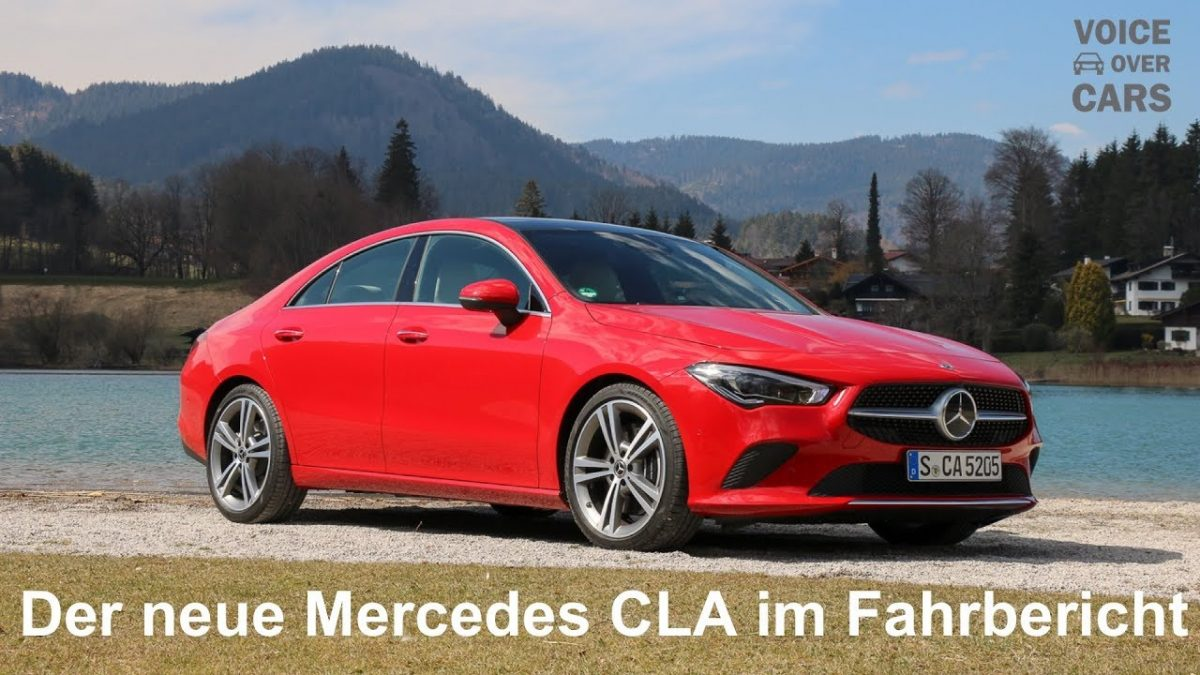 2019 Mercedes-Benz CLA 250 4MATIC Fahrbericht Test Review Sitzprobe Kritik Deutsch Voice over Cars