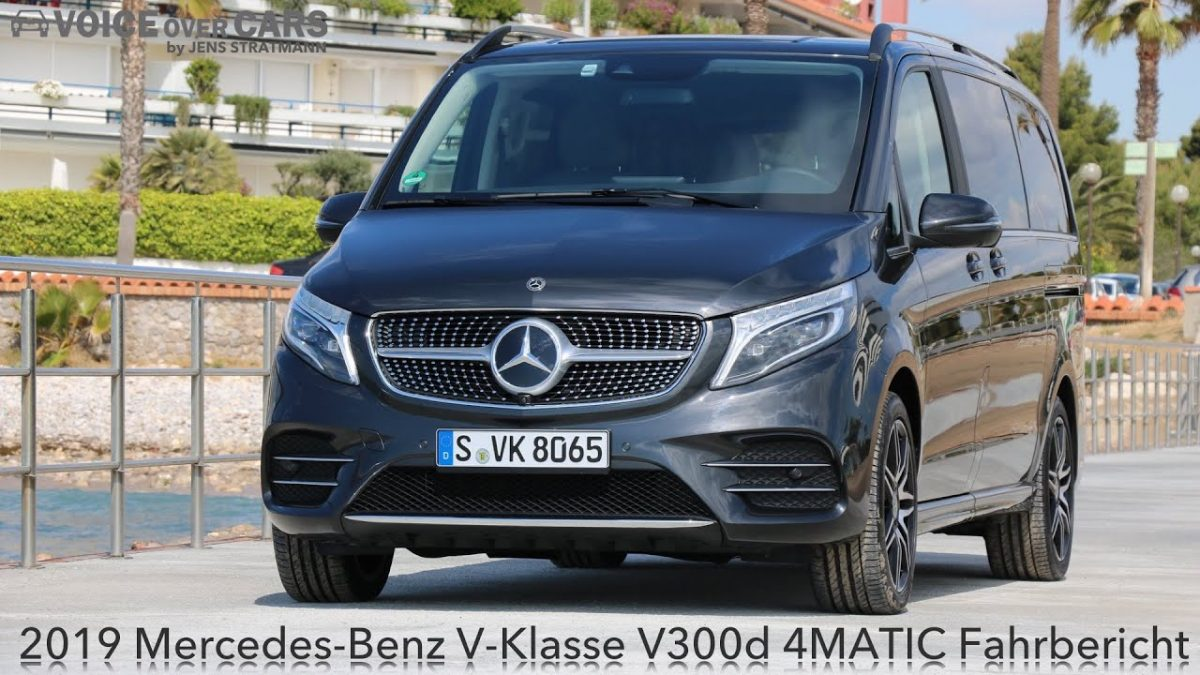 2019 Mercedes-Benz V-Klasse V300d 4MATIC Fahrbericht Test Review Kritik | Voice over Cars Deutsch
