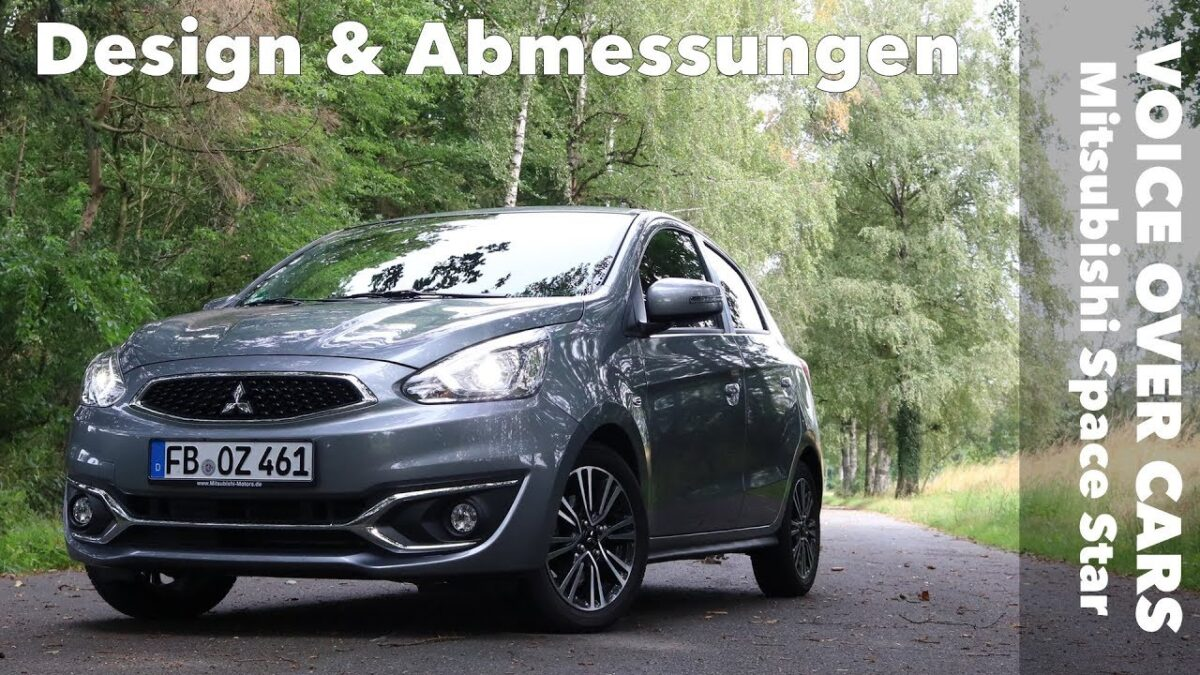 2019 Mitsubishi Space Star Design | Abmessungen | Fakten | Felgen | Details | Voice over Cars