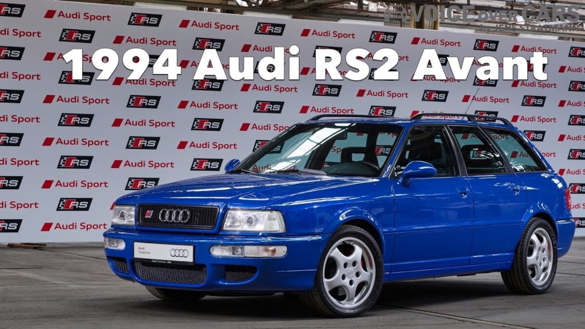 1994 Audi RS2 Avant Motor Design Tuning Styling Voice over Cars Classic Youngtimer