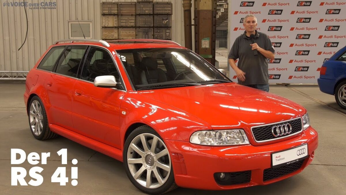1999 Audi RS4 Avant Youngtimer Classic Car Voice over Cars