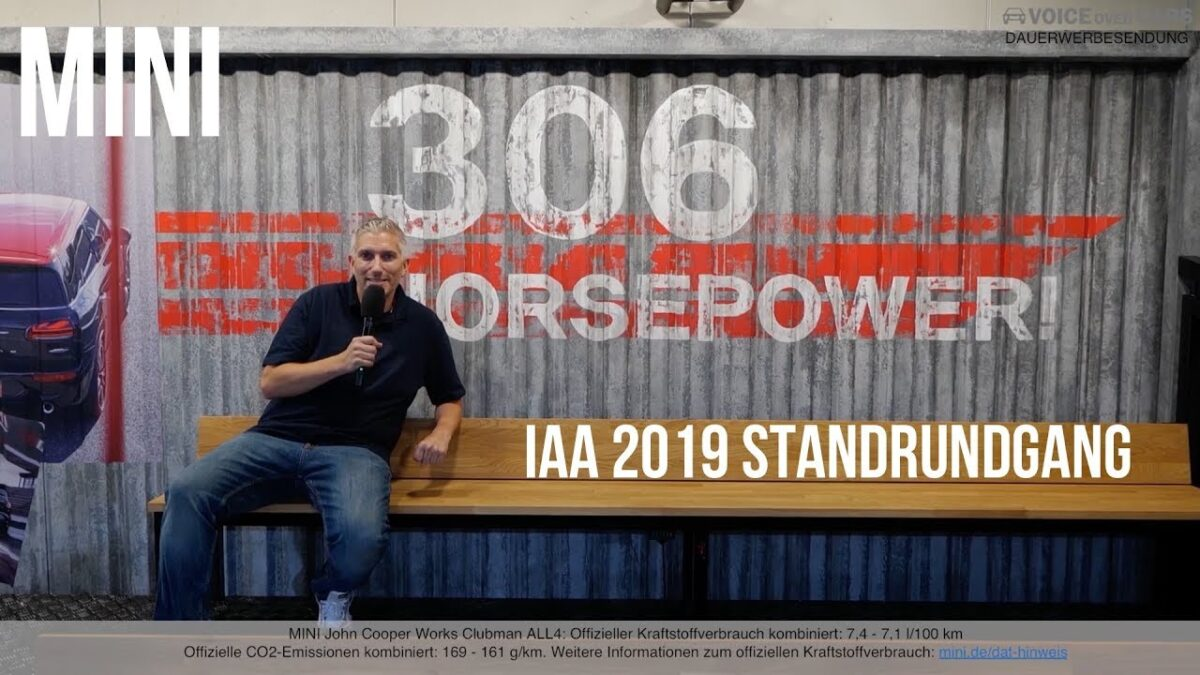 IAA 2019: MINI Standrundgang | Highlights | News | Voice over Cars