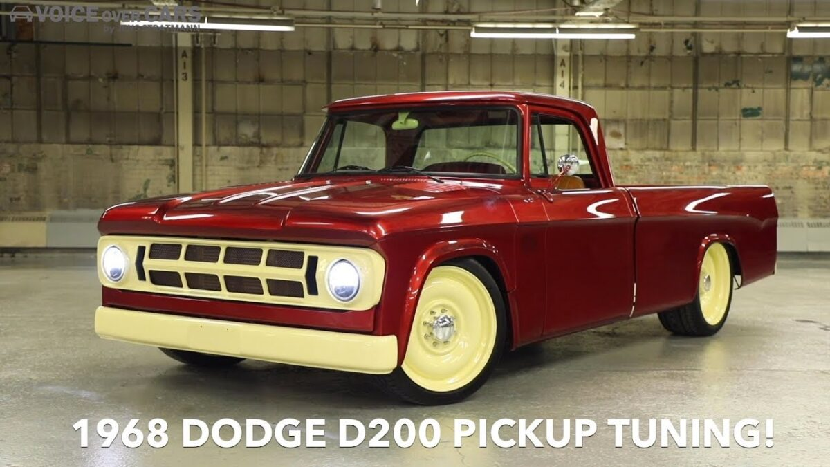 1968 Dodge D200 Pickup Tuning MOPAR SEMA 2019 Voice over Cars Tuning