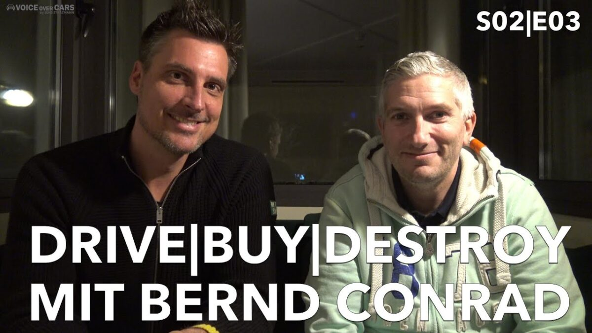 Bernd Conrad von Autonotizen – Drive|Buy|Destroy – MFK mit Autos – Auto YouTuber Interview S02|E03