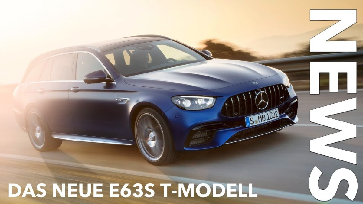 2021 Mercedes-AMG E63 S T-Modell Facelift Modellpflege MoPf Update Fakten Daten Voice over Cars News
