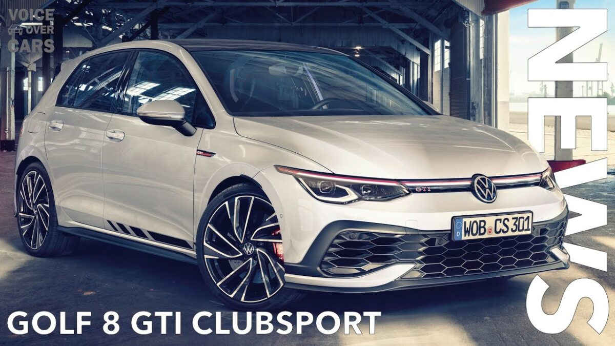 10 Fakten zum VW Golf 8 GTI Clubsport inkl. Sound & Race Track (Benny Leuchter) | Voice over Cars