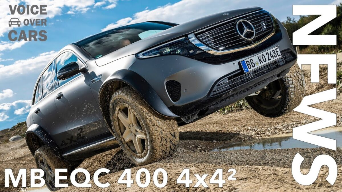 10 Fakten zum Mercedes Benz EQC 4×4² (EQC 4×4 Squared) | Voice over Cars News