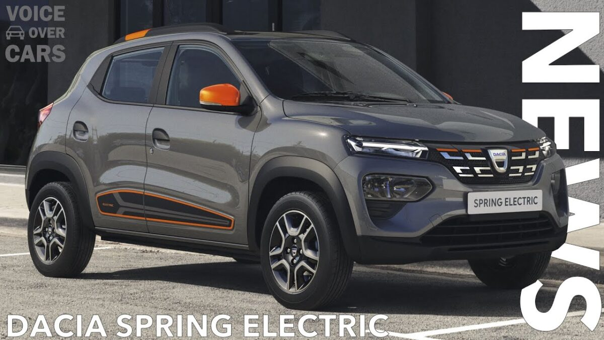 2021 Dacia Spring Electric – Das günstigste Elektroauto in Europa? | Voice over Cars News