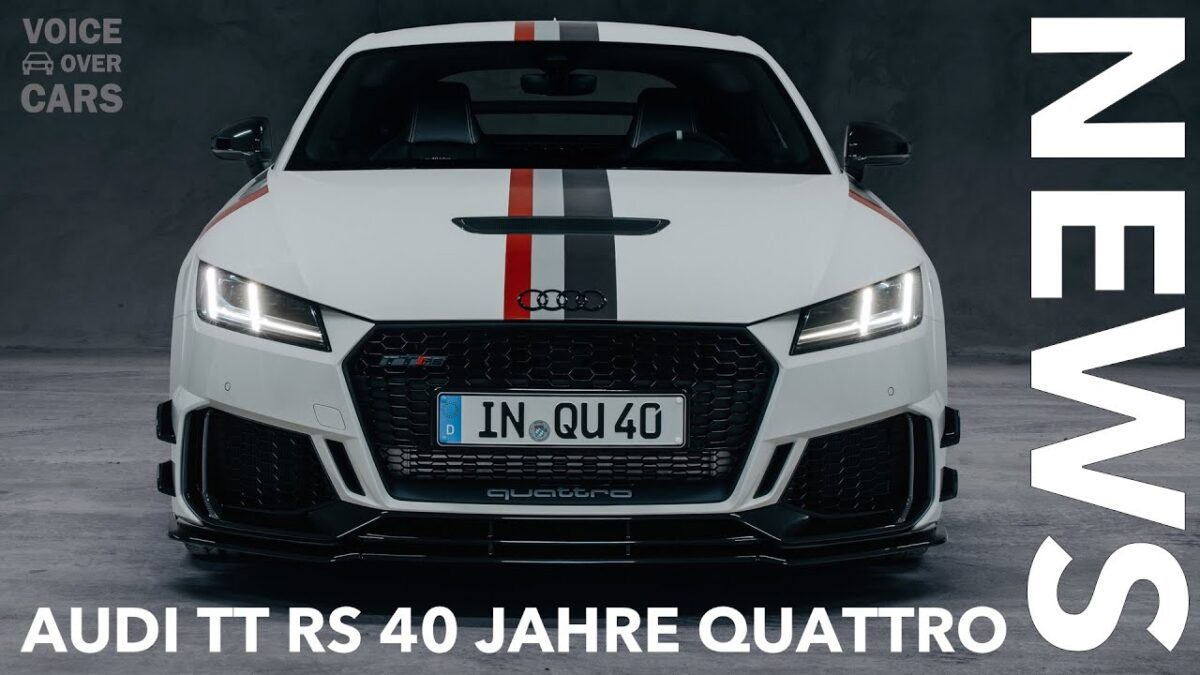 2020 Audi TT RS 40 Jahre Quattro Limited Edition | Hot or Not? Voice over Cars News