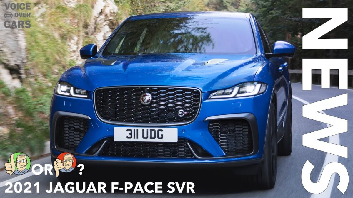 2021 Jaguar F-PACE SVR | 286 km/h schnelles SUV | Hot or Not? | Voice over Cars News