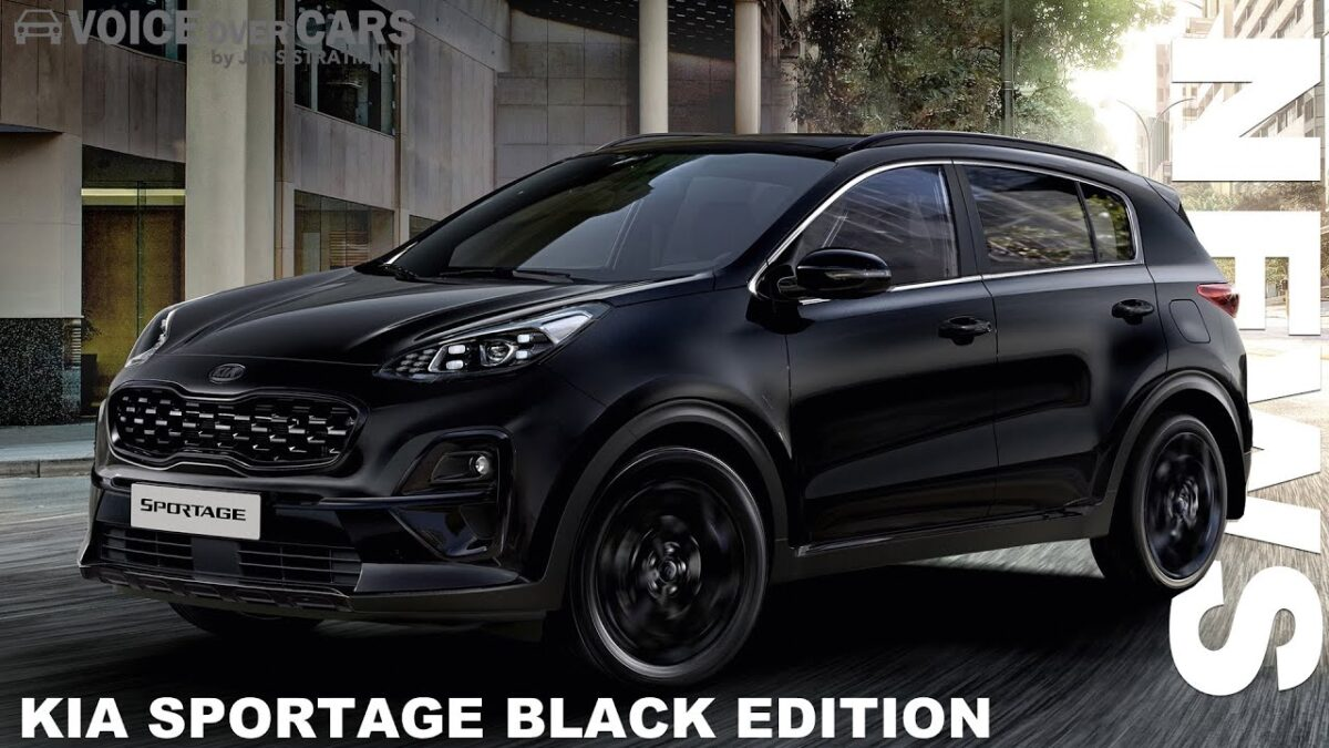 2021 KIA Sportage Black Edition | Voice over Cars News