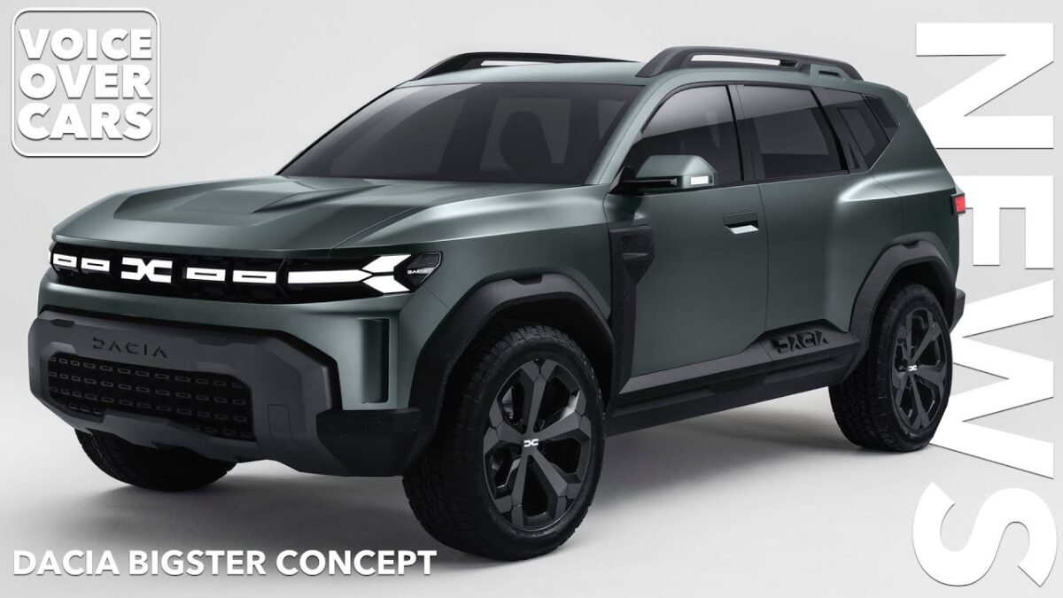 2021 DACIA BIGSTER C-SEGMENT SUV CONCEPT | Voice over Cars News