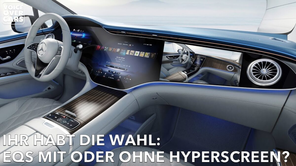 Mercedes-EQ EQS Hyperscreen: Hot or Not? Ihr habt die Wahl! | Voice over Cars News